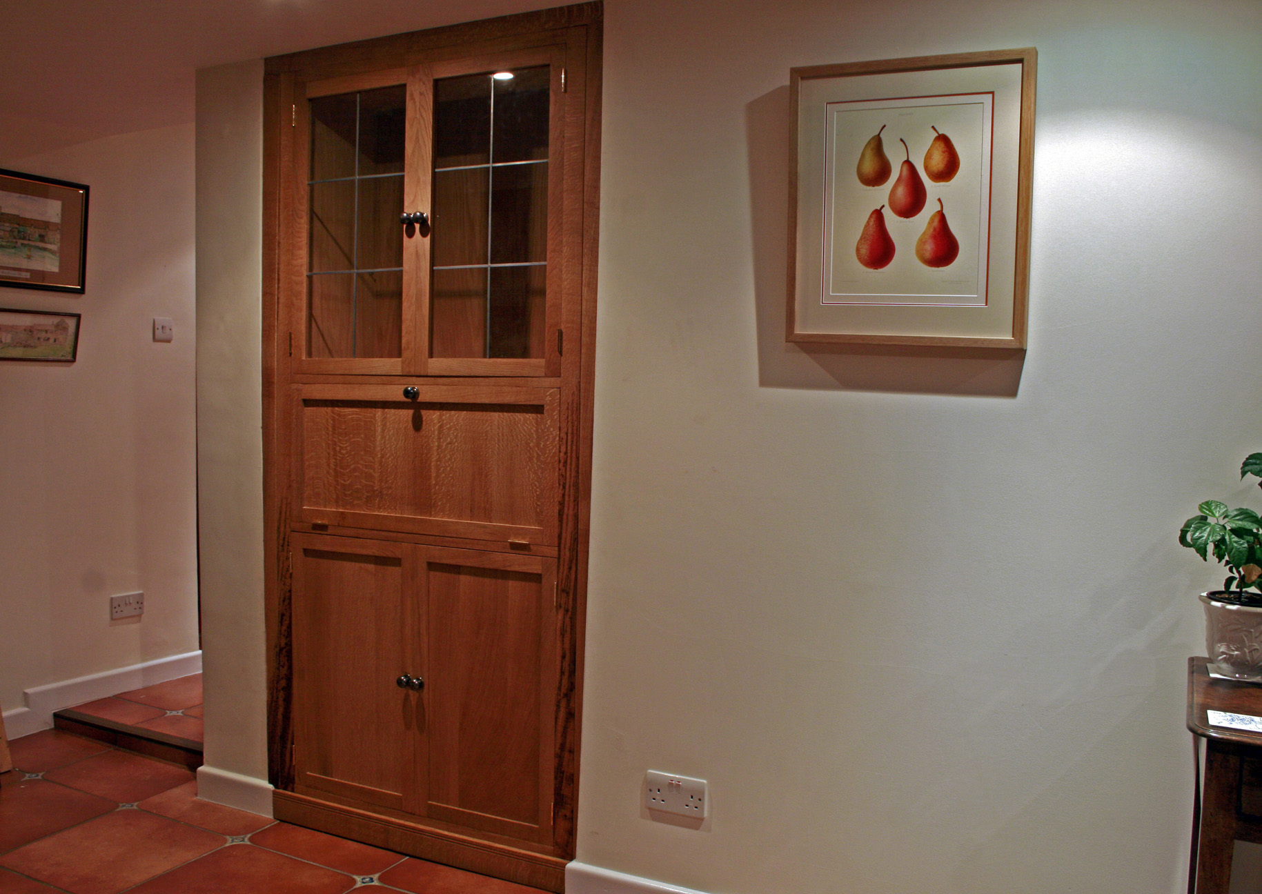 fitted alcove cabinet somerset, bristol, arbor furniture