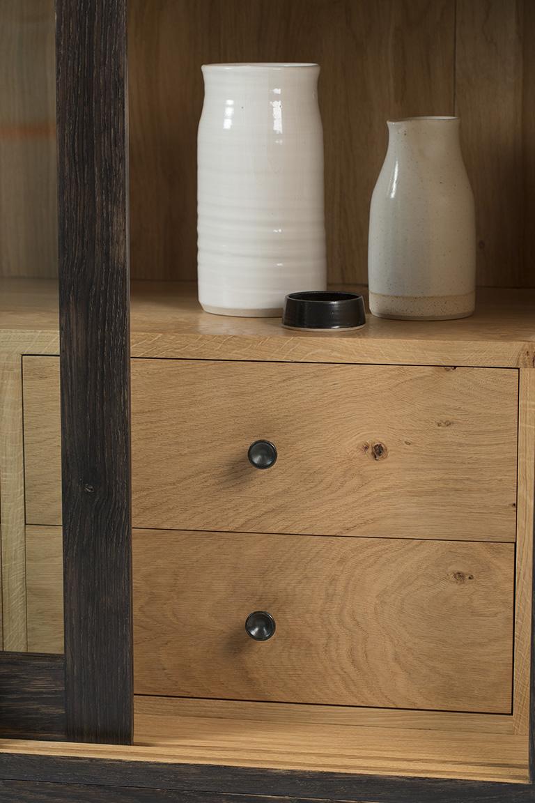 furniture maker bristol, furniture maker, oak cabinet, bespoke furniture, arbor furniture