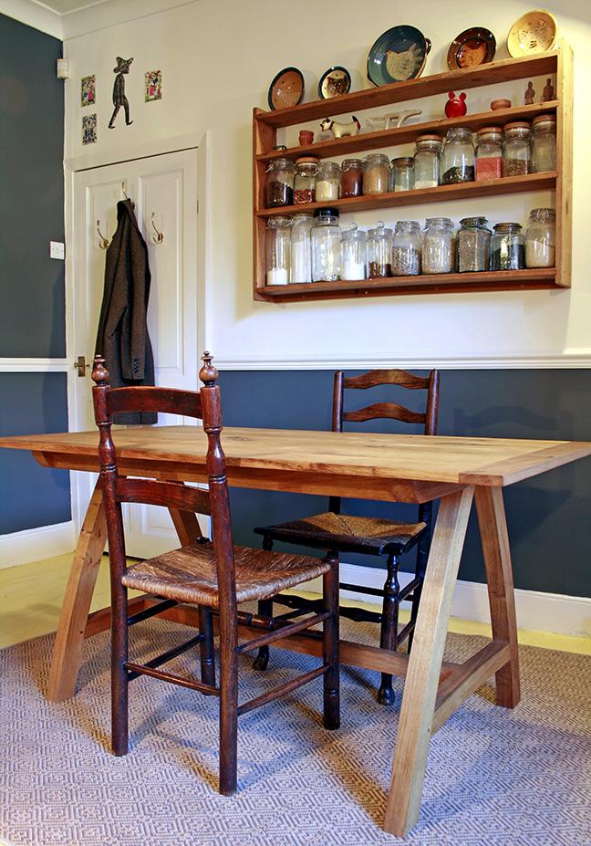 Bespoke table, bristol, furniture maker, somerset