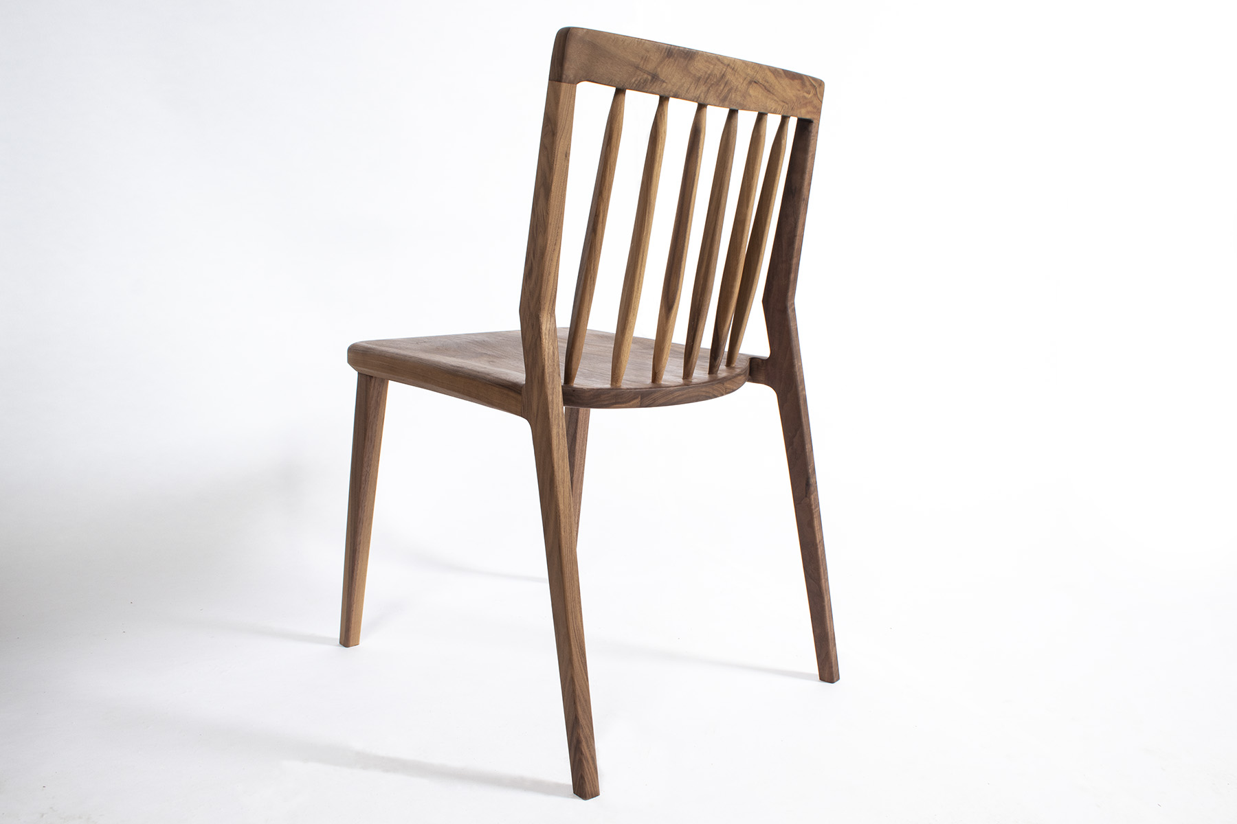 furniture maker bristol, built in furniture bristol, chair maker, arbor furniture, walnut chair