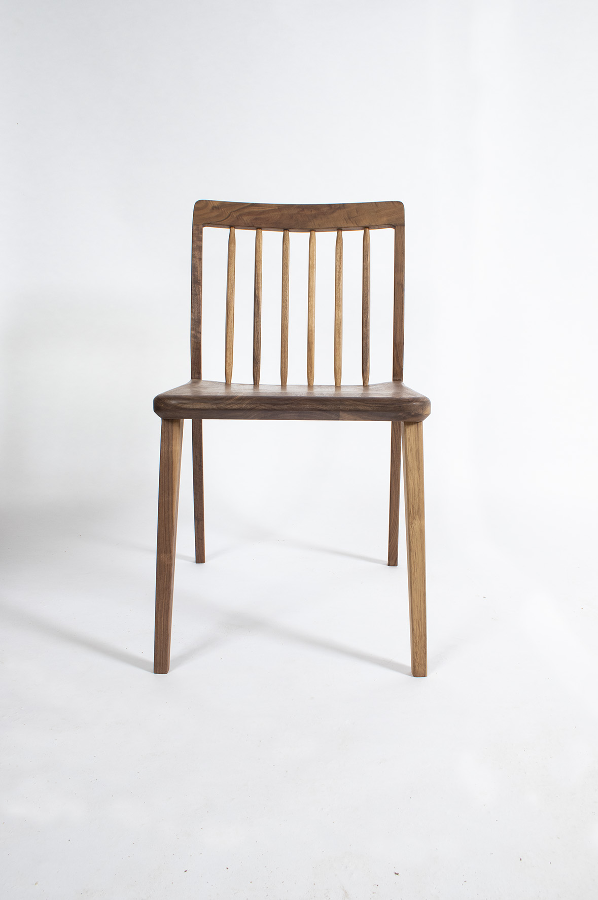 furniture maker bristol, bespoke furniture, built in furniture bristol, walnut chair, dining chair