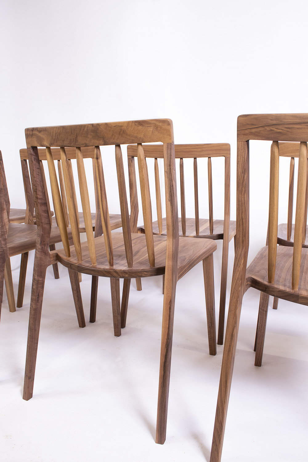 furniture maker bristol, chair maker, dining chairs, walnut chairs