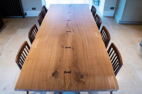 Oak dining table | hand made.